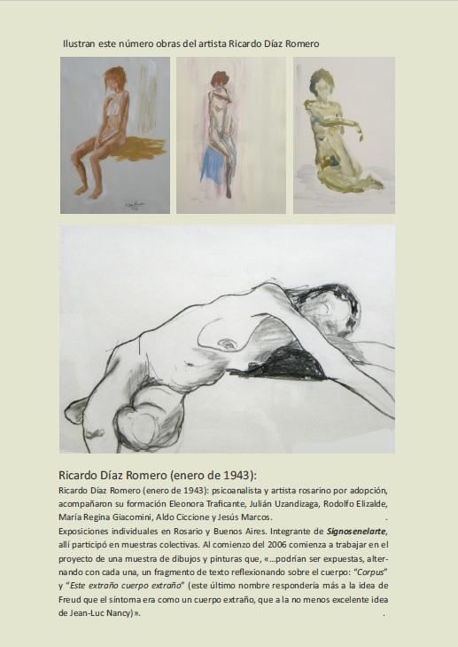 Arte de Ricardo Díaz Romero, pinturas